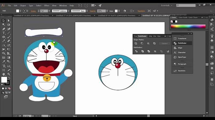 Hoc thiet ke do hoa Adobe Illustrator Ai tai Binh Duong