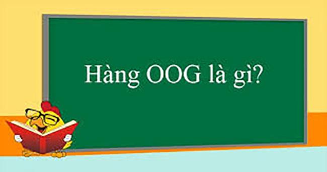 Hàng OOG (Out Of Gauge)