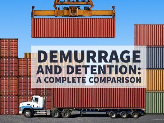 DEM, DET, Storage trong xuất nhập khẩu là gì