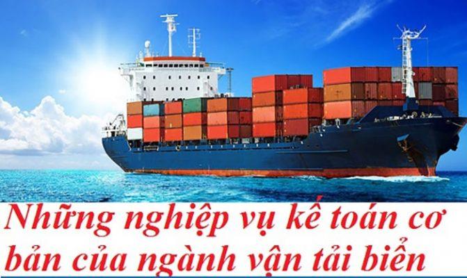 Kế toán vận tải và logistics mảng đường biển