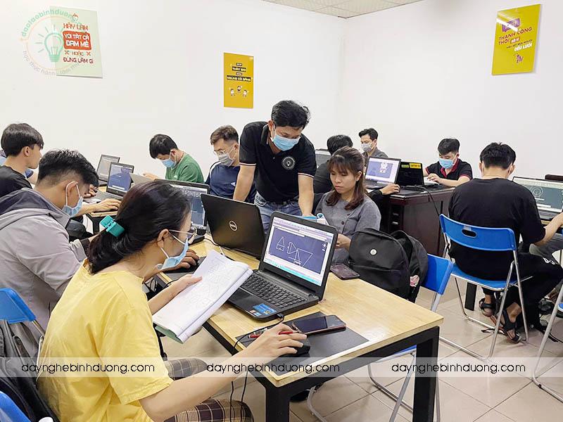 Đào tạo học Autocad 2D 3D tại Đồng Xoài Bình Phước