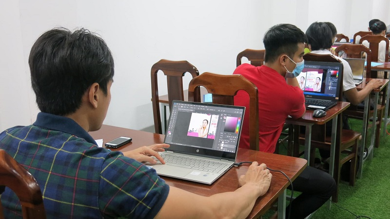 Đào tạo học thiết kế đồ họa tại Chơn Thành Bình Phước