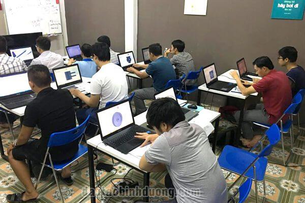 Đào tạo học vẽ kỹ thuật 2D 3D tại Đồng Xoài Bình Phước