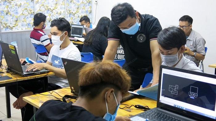Đào tạo học vẽ kỹ thuật 2D 3D tại Chơn Thành Bình Phước