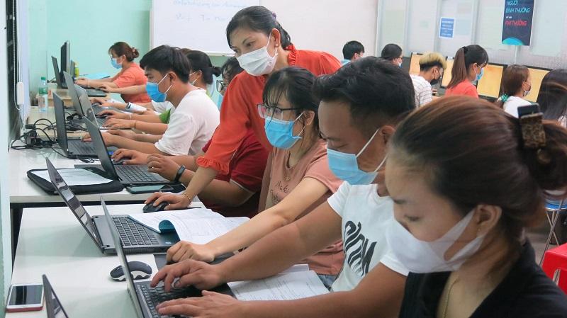 Trung tâm đào tạo tin học Chơn Thành Bình Phước THỰC TẾ (1)