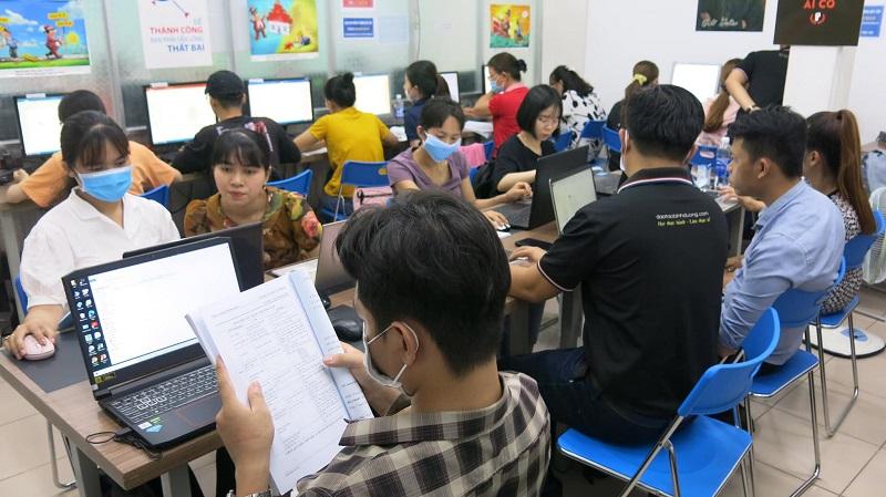 Trung tâm đào tạo tin học Chơn Thành Bình Phước THỰC TẾ (2)